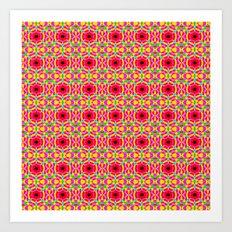 Jelly Arcade Pattern Art Print