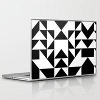 yin yang Laptop & iPad Skins featuring Yin Yang by Jar Lean