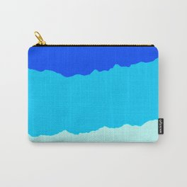 Crashing Sea Waves - Foam, Surf & Sky Carry-All Pouch