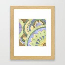 Mandala Circus1 Framed Art Print