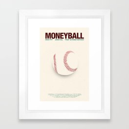 Moneyball Framed Art Print