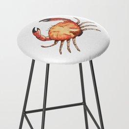Crab: Fish of Portugal Bar Stool