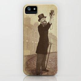 Vintage Selfie iPhone Case