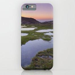 River San Juan lagoons at sunset iPhone Case