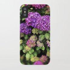 hydrangea iPhone X Slim Case