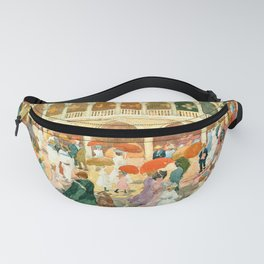 """Maurice Prendergast """"Sunlight on the Piazzetta"""" Fanny Pack"""