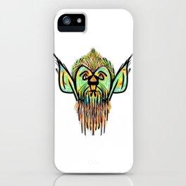 Hipster Werewolf iPhone Case