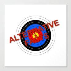 Target Alternative Facts Canvas Print