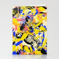 fight Stationery Cards featuring Fight by Larionov Aleksey