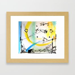 Daytime by Ella Son Framed Art Print
