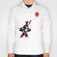 planet of the apes Hoodies featuring Balloon Apes by merimeaux