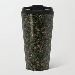 Floral Pattern Flowers Retro Background Travel Mug