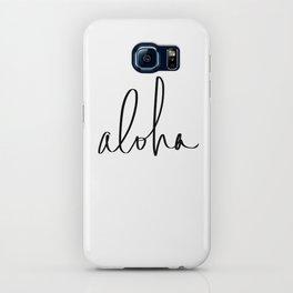 Aloha Hawaii Typography iPhone Case