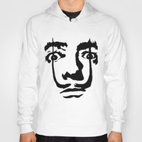salvador dali Hoodies featuring salvador dali by b & c