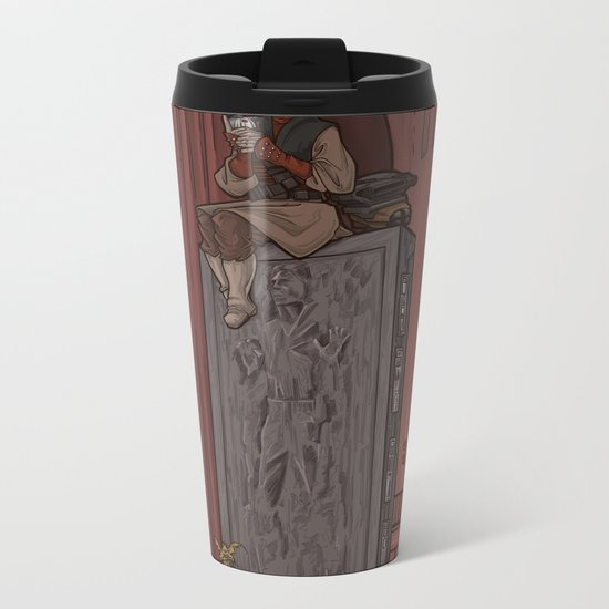 ....to find a way out! Metal Travel Mug