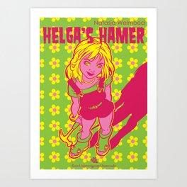 Helga's Hamer Art Print