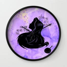 It Can Take a Little Extra Believing Wall Clock