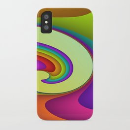 fluid -15- iPhone Case