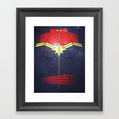 Call me Captain  Framed Art Print