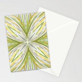 Green and Grey Pastel Mandala Stationery Cards