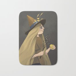 A Witchy Picture Day Bath Mat