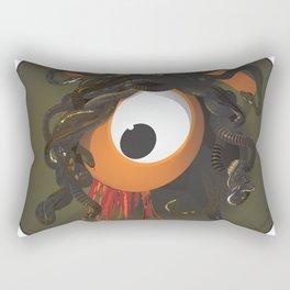 medusa's eye Rectangular Pillow