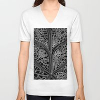 ben giles V-neck T-shirts featuring St Giles by Fiorella Modolo