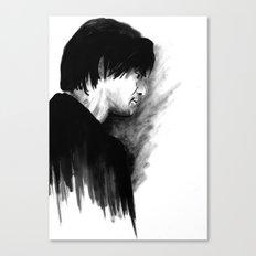 DARK COMEDIANS: Jim Carrey Canvas Print
