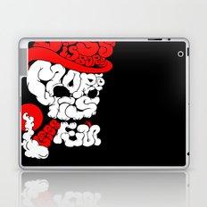 smoking skull Laptop & iPad Skin