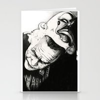 joker Stationery Cards featuring Joker by Sinpiggyhead