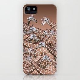 Sea of Giraffes iPhone Case