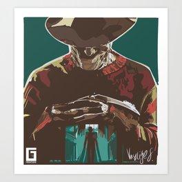Freddy the Boogieman Art Print