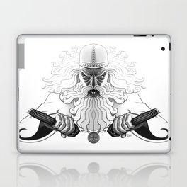 Väinämöinen crossing the lake Laptop & iPad Skin