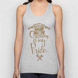 Custom is my pride Unisex Tank Top