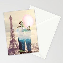 Chewingum In Paris Stationery Cards