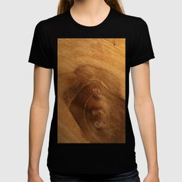 Real Wood Grain Wood Texture T-shirt