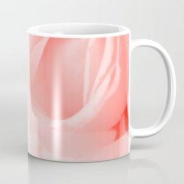 Coral Rose Close-up Coffee Mug