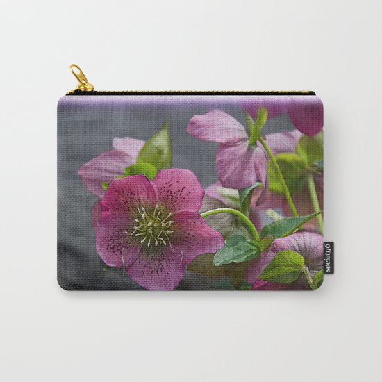 HELLEBORUS NIGERCORS FLOWER Carry-All Pouch