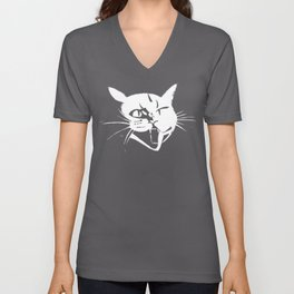 Savage Kitten Unisex V-Neck