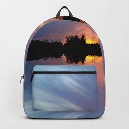 Sunset Brushstrokes Backpack