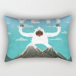 Yeti Rectangular Pillow