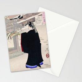Tsukioka Yoshitoshi - Top Quality Art - FUJIWARA KINTO Stationery Cards