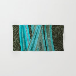 No Exit Abstract Design Hand & Bath Towel