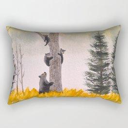 Bears In The Blue Ridge Mountains Rectangular Pillow