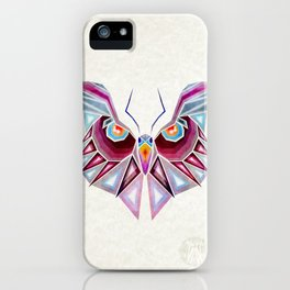 owl or butterfly? iPhone Case