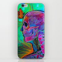 psychology iPhone & iPod Skins featuring Reverse Psychology by RandyConnerPaintings