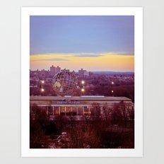 Queens Museum Art Print
