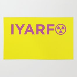 IYARFO Minimal Magenta Rug