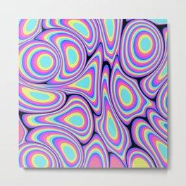 Digital Water Marble Painting #1 Metal Print