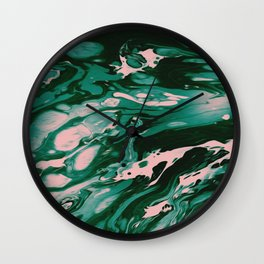 MEET ME IN THE WOODS Wall Clock